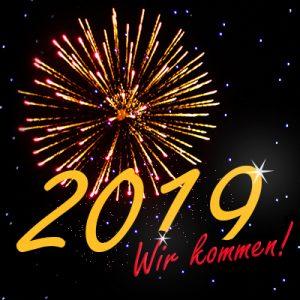 2019 Wir kommen! Silvesterparty bei Wente 2.0